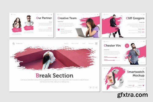 Crush - Powerpoint Google Slides and Keynote Templates