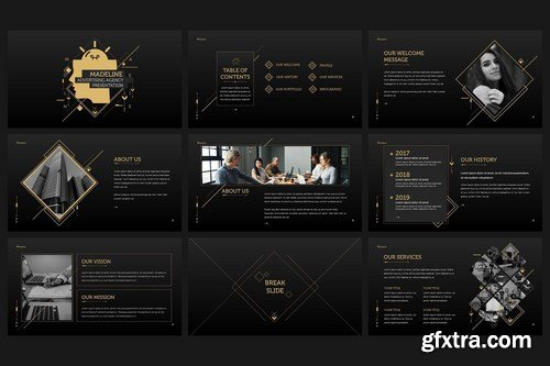 Madeline - Powerpoint Template