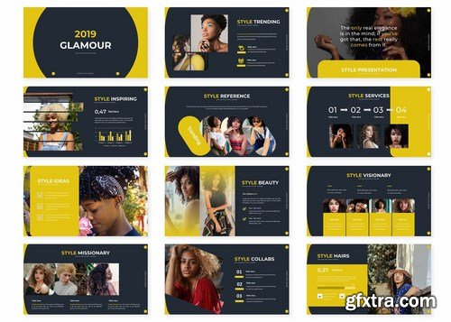 Glamour - Powerpoint Google Slides and Keynote Templates