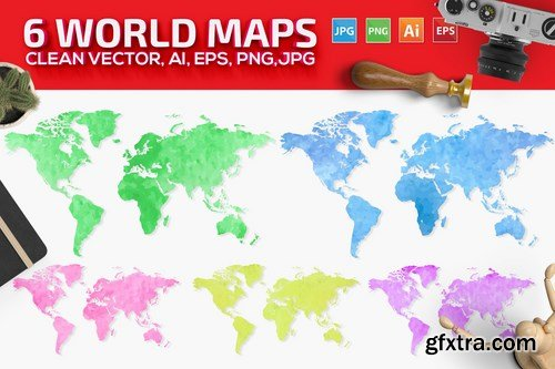 World Maps 6 Version