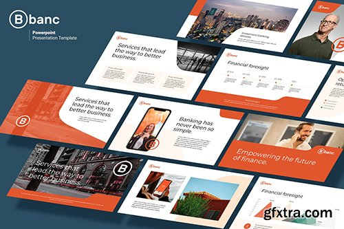 Banc - Business & Financial Powerpoint and Google Slides Template