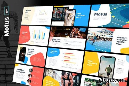 Motus - Multipurpose Powerpoint and Google Slides Template