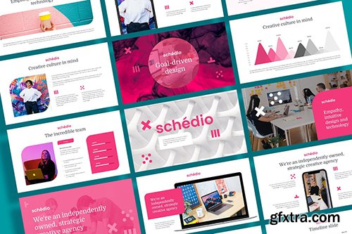 SCHEDIO - Multipurpose Business Powerpoint and Google Slides Template