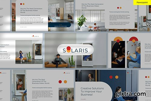 Solaris - Clean & Minimal Powerpoint and Google Slides Template