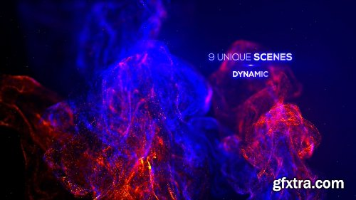 Videohive Particle Advection Titles 24725970