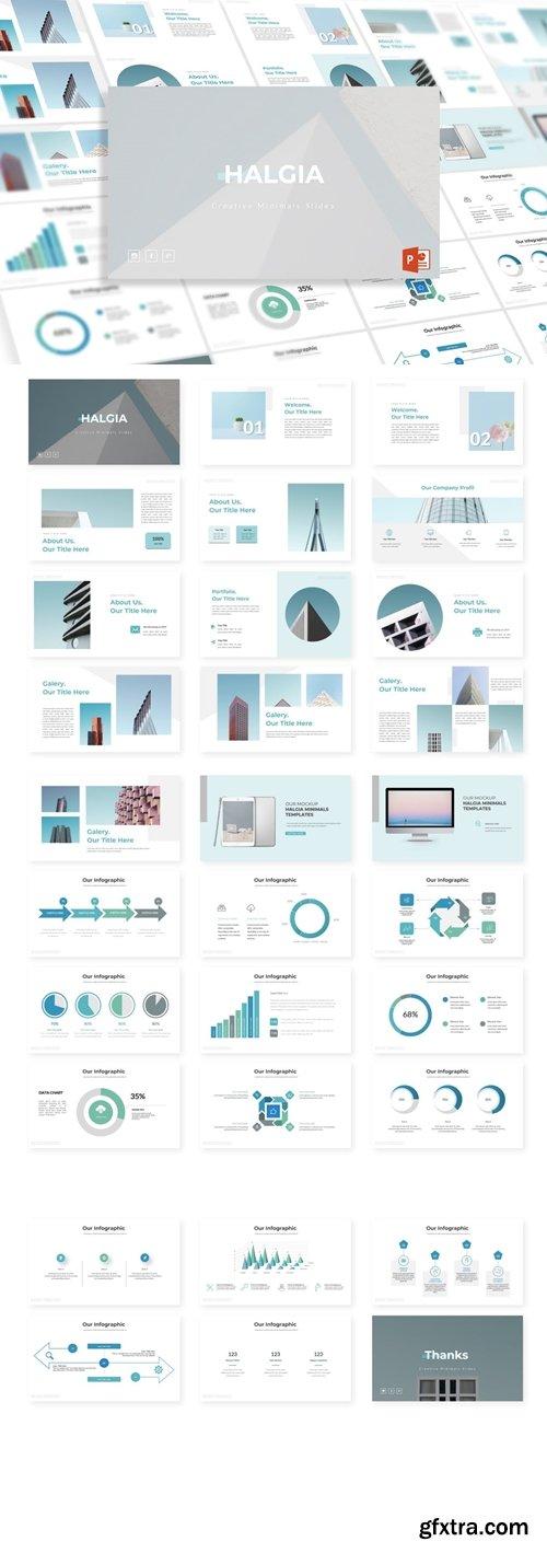 Halgia Powerpoint, Keynote and Google Slides Templates