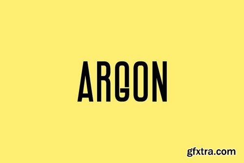 CM - ARGON - Display Headline Typeface 4174282