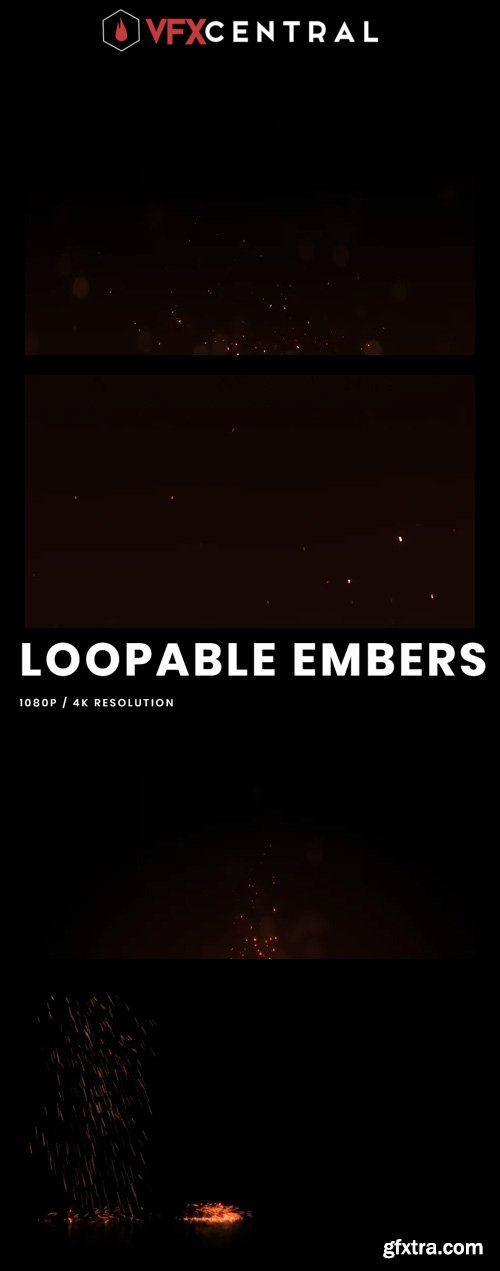 VfxCentral - LOOPABLE EMBERS
