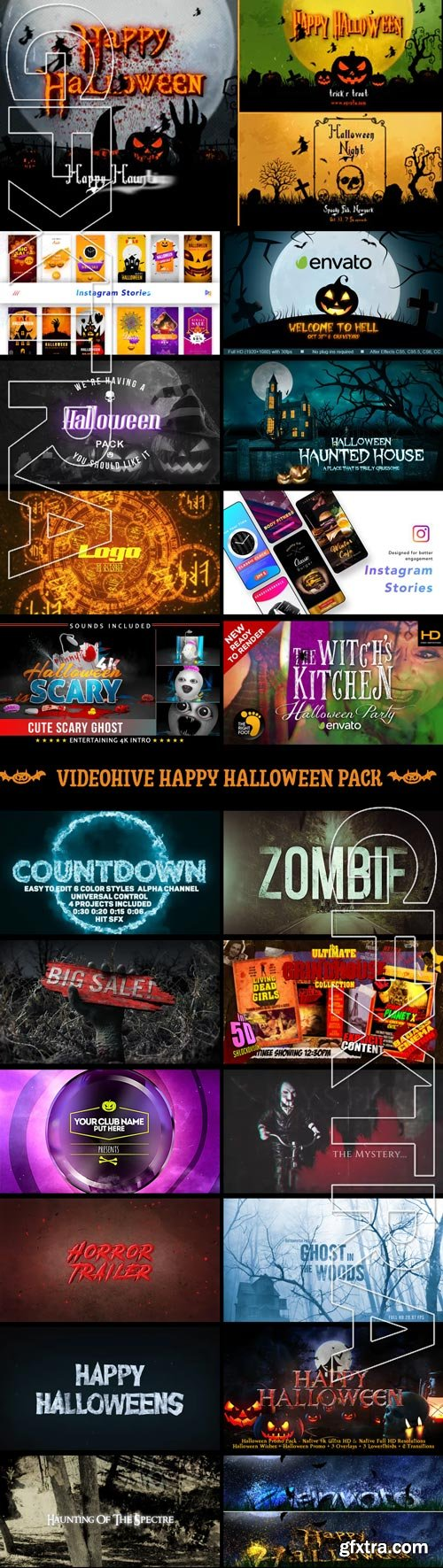 Videohive - Happy Halloween Pack - Daily Update!