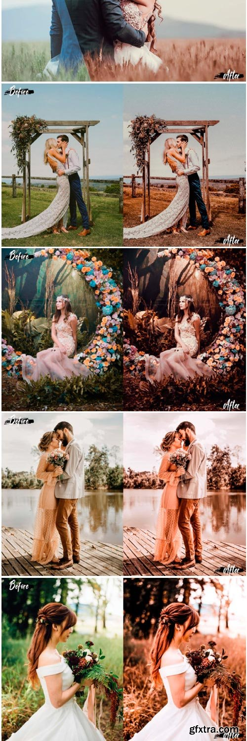 5 Fall Photoshop Actions 1796370