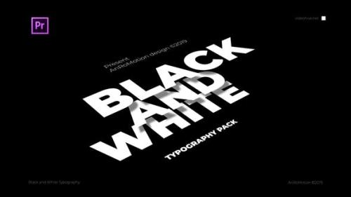 Udemy - Black And White - Titles And Typography