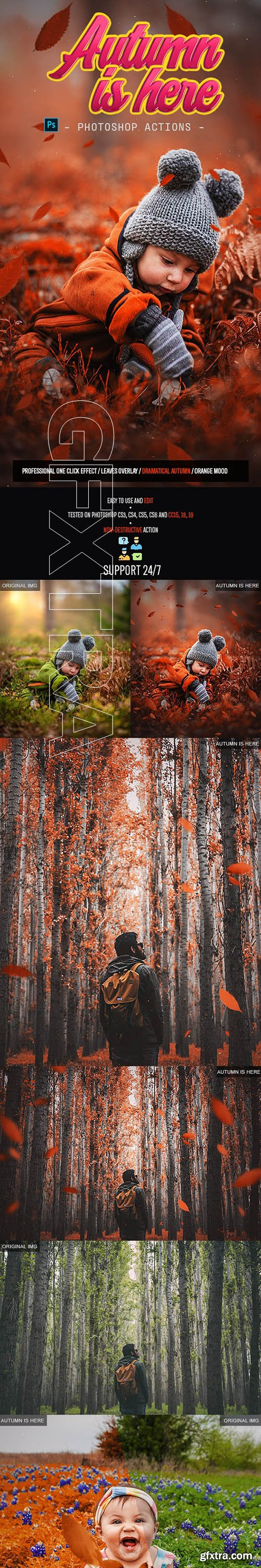 GraphicRiver - Autumn Is Here 24633883