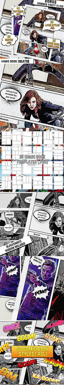 GraphicRiver - Comic Book Creator 23877625