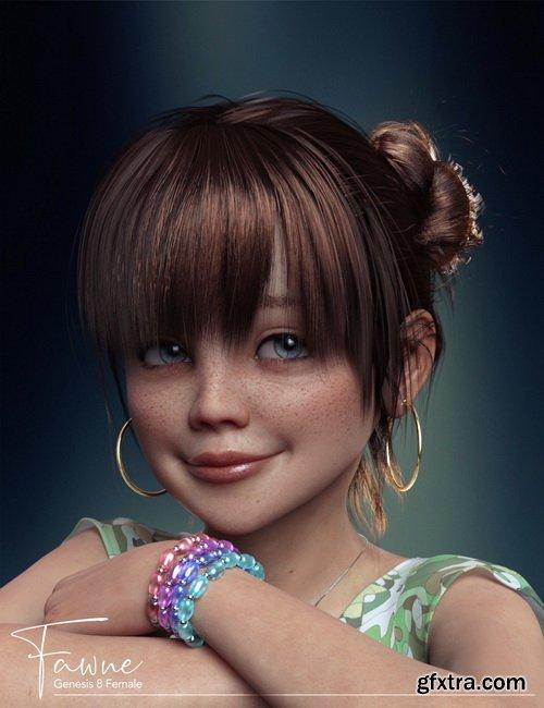 Daz3D - Fawne Bundle for Genesis 8 Female(s)