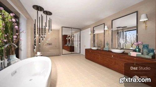 Daz3D - IGF Luxury Bathroom Bundle