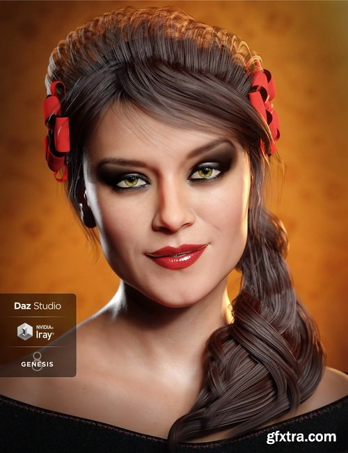 Daz3D - Gabriela 8 Pro Bundle