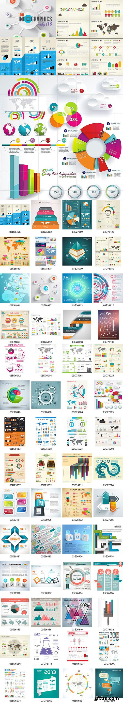 Mightydeals - 100 Premium Infographics from Ingimage - only $18! (Re-Up)