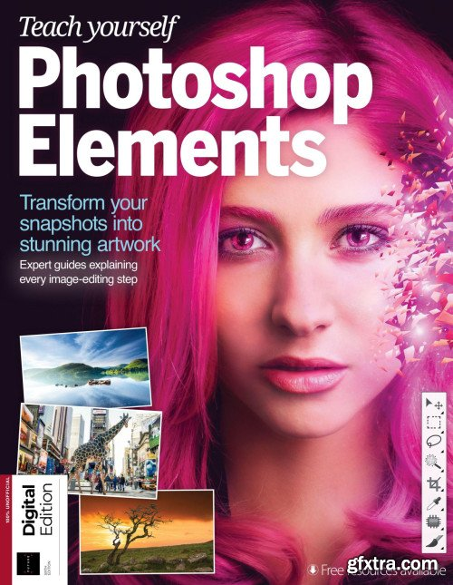 Teach yourself Photoshop Elements - 6th Edition 2019