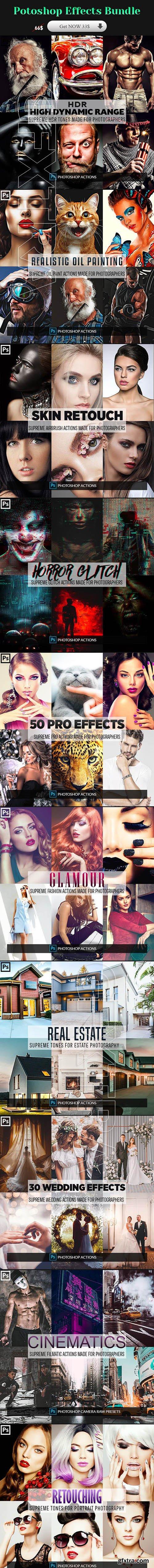 GraphicRiver - Photoshop Effects Bundle 23634769