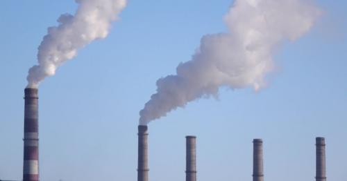 Pipes of Industrial Enterprise Spew Tons of Gas Into Environment - 7YXQJ2T