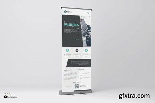 Company - Roll-up Banner Template