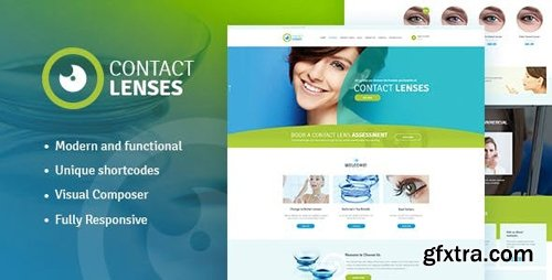 ThemeForest - Contact Lenses v1.2 - Store & Vision Therapy Clinic Doctor WordPress Theme - 17430506