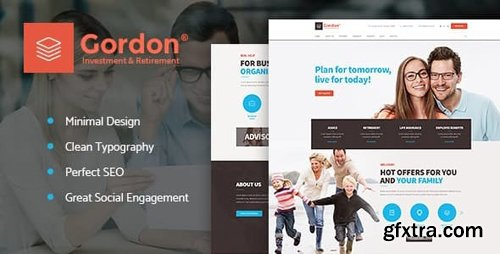 ThemeForest - Gordon v1.1.1 - Investments & Insurance Company WordPress Theme - 19811521