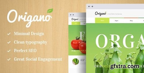 ThemeForest - Origano v1.6 - Organic Food & Eco Farm WordPress Theme - 12437538