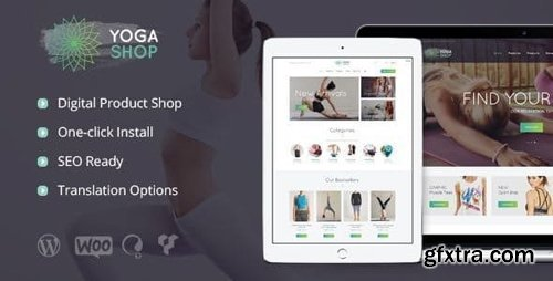 ThemeForest - Yoga Shop v1.1 - A Modern Sport Clothing & Equipment Store WordPress Theme - 17456403