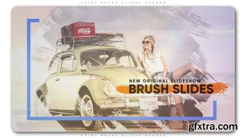 VideoHive Paint Brush Slides Opener 22221190