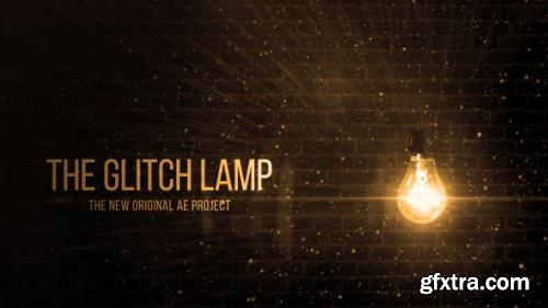 VideoHive Glitch Lamp Logo Reveal 13513267