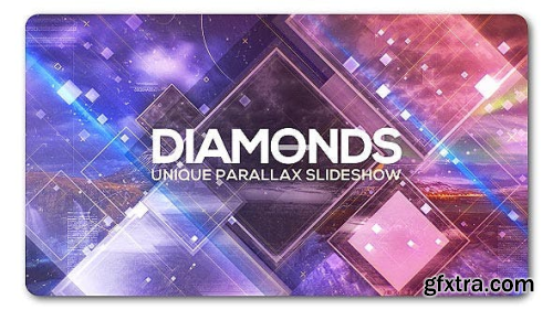 VideoHive Diamonds Unique Parallax Slideshow 19934958