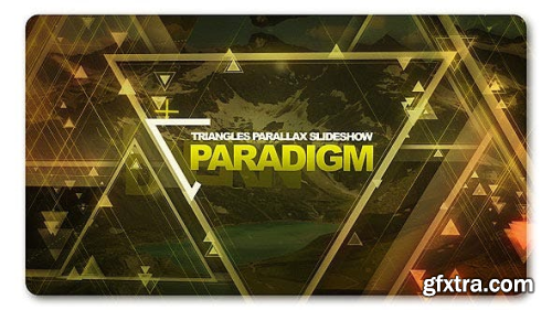 VideoHive Paradigm Triangles Parallax Slideshow 19811475
