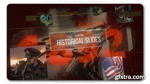 VideoHive Past Time Historical Slideshow 22397826