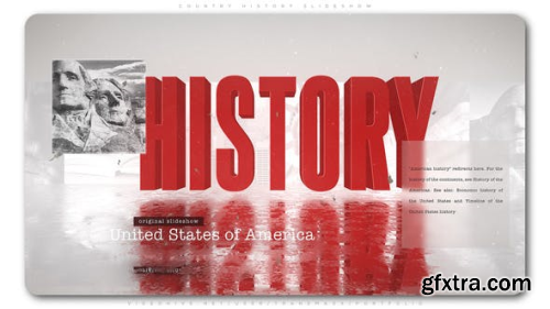 VideoHive Country History Slideshow 23703172