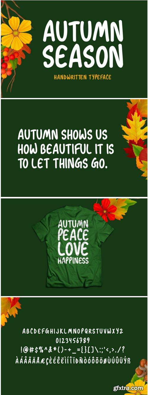 Autumn Season Font