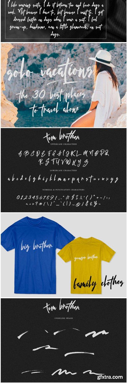 Tom Brother Font