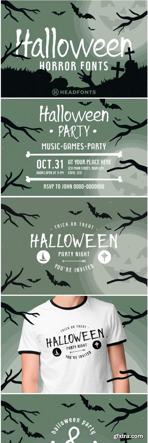 Halloween Duo Font