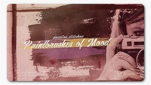 Udemy - Paint Brushes of Mood Parallax Slideshow