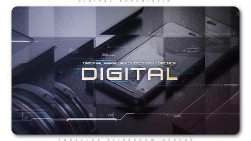 Udemy - Digital Futuristic Parallax Slideshow | Opener