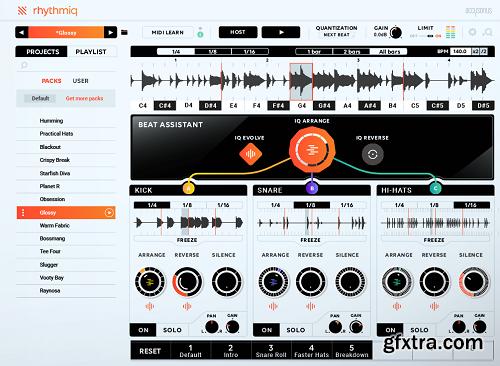 Accusonus Rhythmiq v1.0.3 MacOSX-R2R