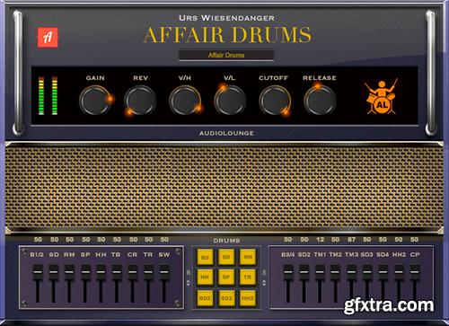Audiolounge Urs Wiesendanger Rhodes Affair Drums WiN x64 x86-AwZ