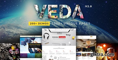 ThemeForest - VEDA v2.8 - MultiPurpose WordPress Theme - 15860489