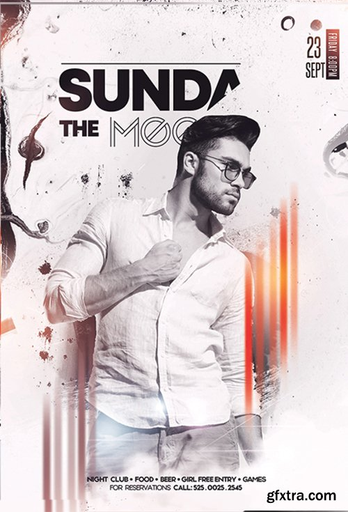 Sundays Vibe PSD Flyer Template