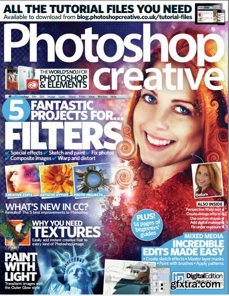 Photoshop Creative - Issue 111 - 5 Fantastic Projects For Filters