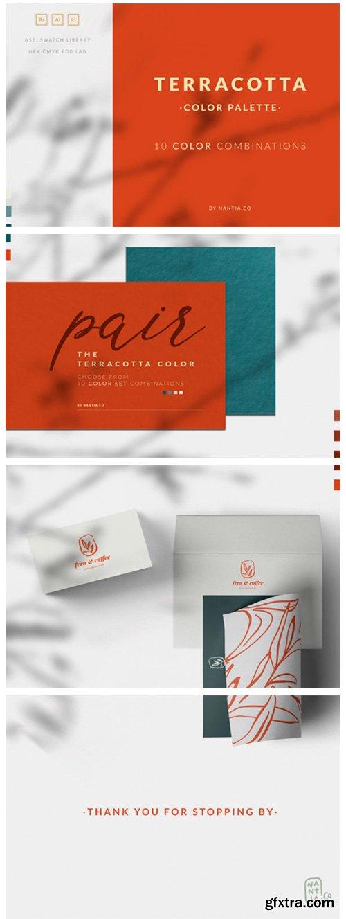 Terracotta Color Palette Collection 1791349