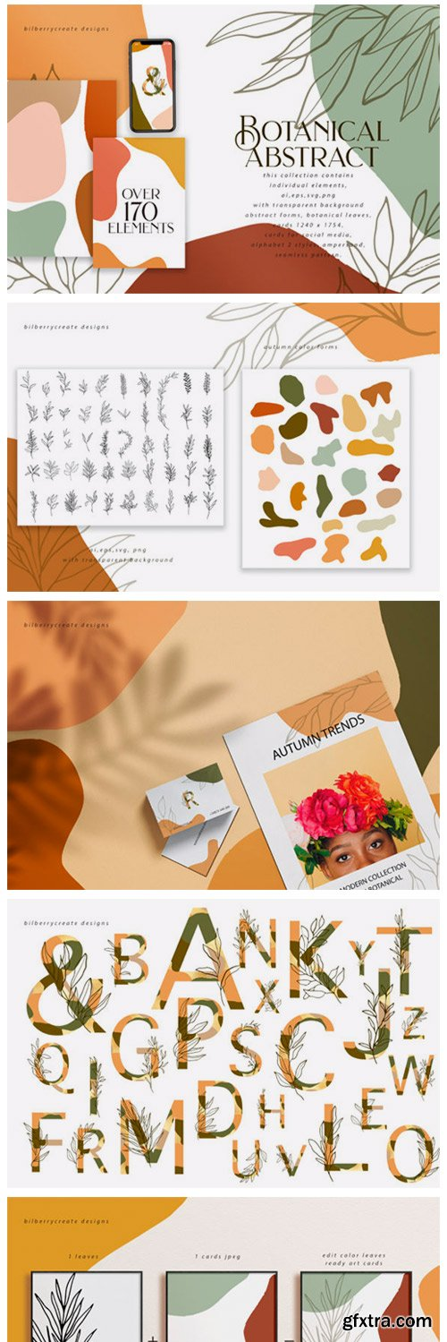 Botanical Abstract Collection 1842952