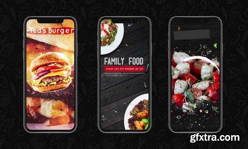 Videohive - Food Instagram Stories Pack - 23022716