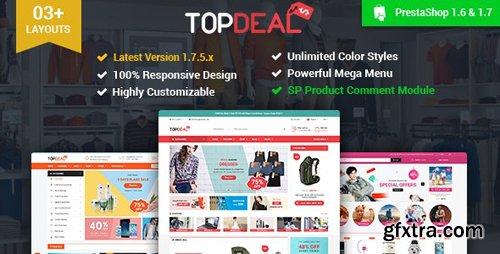 ThemeForest - TopDeal v2.5.0 - Multipurpose Responsive PrestaShop 1.6 & 1.7 Theme
