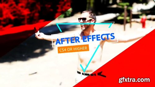 Energetic Slideshow After Effects Template